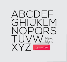 Dafont Nexa Light Nexa Font Free Download Ultralinx