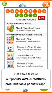 Phonemic Chart Cambridge Phonetics Focus Lite By Cambridge English Online Ltd