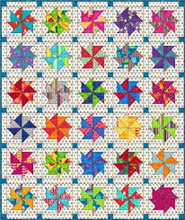 Flying Kite Quilt block: Download the FREE paper piecing pattern ... & Flying Kite quilt block done in bright kid prints for a baby quilt Adamdwight.com