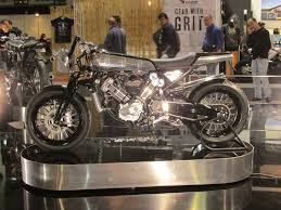 Motorcycle Display Stand Two new Brough Superiors at Eicma 100 Visordown 18
