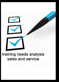 Mti Check List Training Needs Analysis Sales And Services