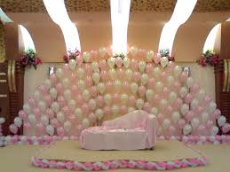birthday stage decoration photoage net balloon decorations for