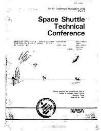 Space Shuttle Technical Conference Nasa Office Of Logic Design