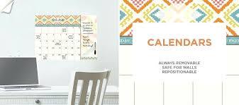 dry erase calendar wall home a a dry erase decals a calendars dry erase wall calendar staples