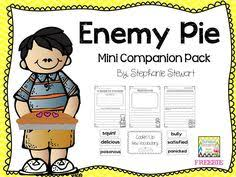 Small Picture Enemy Pie by Derek Munson is a great book to read aloud or listen