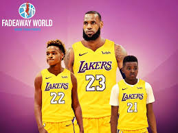 Find lebron james stock photos in hd and millions of other editorial images in the shutterstock collection. 24 Lebron James Jr Wallpapers On Wallpapersafari