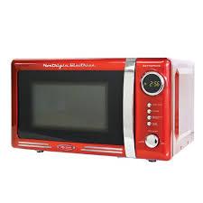 nostalgia electrics retro series countertop microwave oven