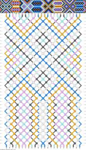 Heart Friendship Bracelet Pattern Unique Inspiration Design