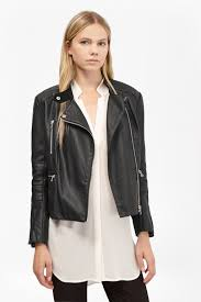 decade faux leather biker jacket loading images