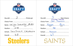 draft selection cards a closer look nfl