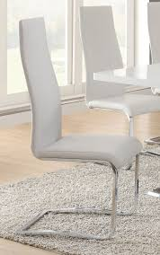 nameth white faux leather dining chair jpg