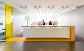 winsome office reception table design ideas modern office office