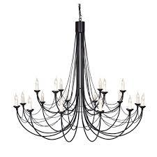 cb black carisbrooke  light black chandelier