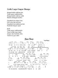 Lagu karaoke gugur bunga instrumen dan lirik teks liriknya besar. Gugur Bunga Original Mp3 Download