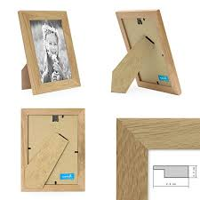 photolini photo frame set modern white 7 pack multi picture photo frames wall basic collection