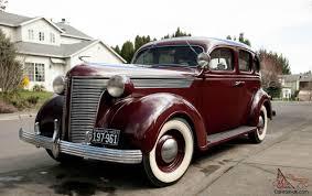 DESOTO sedan,Burgandy 4 door Original ,chevy,dodge,ford,1936,1938 ...