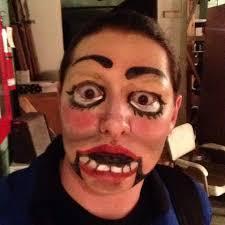 creepy doll ventriloquist dummy makeup