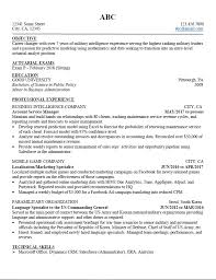 Technical Skills On A Resume Amazing Career Changer Seeking For Resume Critique Actuary