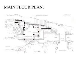 Casestudy Of Falling WaterFalling Water Floor Plans