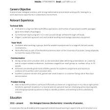Download Skills Resume Template. Problem Solving ...