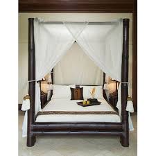bamboo poster bed. Delighful Bed With Bamboo Poster Bed Bali Creations