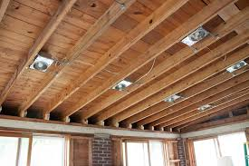 installing can lights in drop ceiling designs diy recessed lighting installation