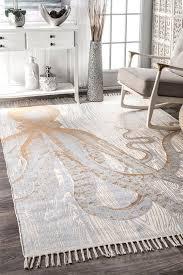 area rugs handmade cotton ivory orange area rug
