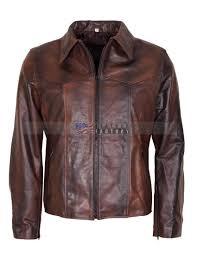 antique brown mens vintage racer leather jacket uk now