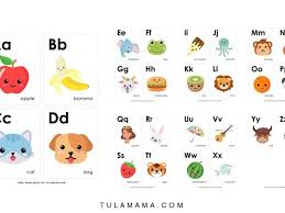 Base colors flash cards for toddlers. Fun Free Engaging Alphabet Flash Cards For Preschoolers Tulamama