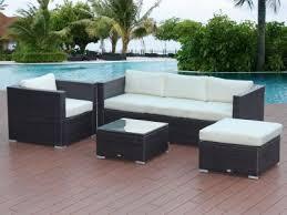 betalife rattan outdoor furniture 5 seater sofa set 4pcs
