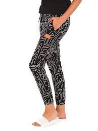 fila leggings. the married to mob fila lounger joggers in black leggings