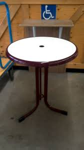 TABLE BISTROT RONDE d'occasion - Troc.com