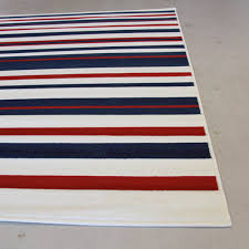 sterling sterling stripes rug blue red white 160x230cm 94 95