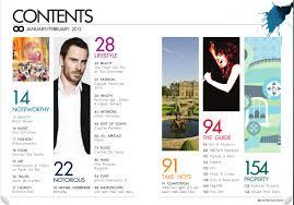 Magazine Content Page Layout Design 1000 Images About Magazine On Pinterest Magazine Design