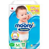 <b>Подгузники</b>-<b>трусики MOONY Man</b> 6-12кг универсальные – купить ...