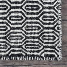 wool kilim rug marrakesh honeycomb