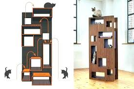 cool cat tree furniture. Modern Cat Tree Furniture Fashionable Designer Tower Plush Trees Simple Design Cool C
