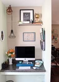 Home office small gallery home Stylish Fynes Designs Small Home Office Makeover Fynes Designs Fynes Designs
