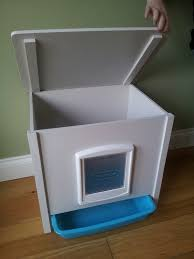 indoor and outdoor cat litter cabinets and litter tray solutions kitty litter solutions