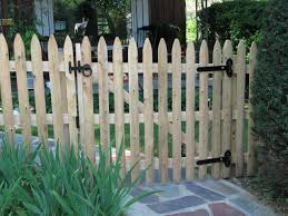 Picket Fence Gate Home Fence Ideas Best Picket Fence Gate At Home