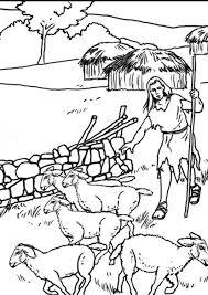 Kleurplaat 1b Herders Afb 7632 Images