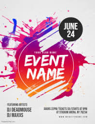 Blank Event Flyer Templates Customize 26 870 Event Flyer Templates Postermywall