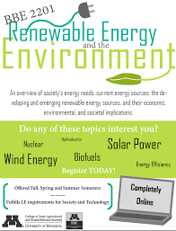 renewable energy and the environment bbe • credits  renewable energy is one of the most important and pressing issues of our time