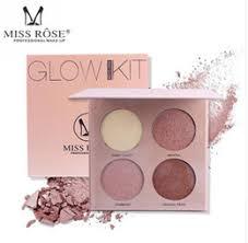 makeup palettes rose promo codes miss rose 4 colors makeup highlighter powder palette contouring natural