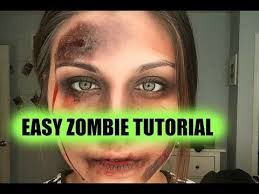 makeuptutorial17 easy zombie makeup tutorial you