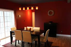 red dining room colors. Romantic Nuance Dining Room With The Application Of Red Color : And Colors
