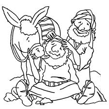 Good Samaritan Coloring Page Lesson I Will Love Others The Good Good