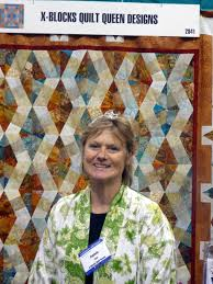 I Have A Notion: Quilt Queen Designs & This is Patricia Pepe from Quilt Queen Designs. Patricia has designed the  X-Block Patterns and Templates. I took some photos of the beautiful quilts  that ... Adamdwight.com