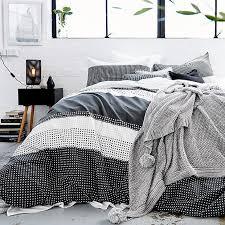 Hexagon Stripe Quilt Cover Set   Target Australia & Enlarge Adamdwight.com