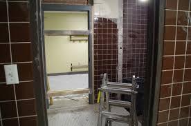 preschool bathroom door. View Of Old Shower (New Preschool Bathroom) Bathroom Door
